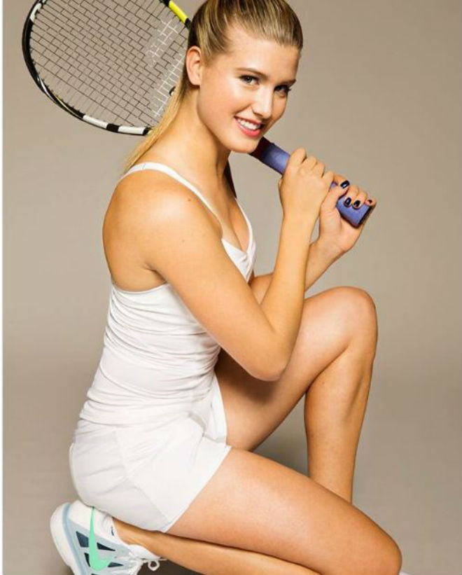 Mỹ nhân tennis Bouchard khoe thân hình quyến rũ mặc thiên hạ xì xèo 3