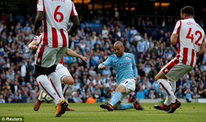 Man City - Stoke: Không tưởng đại tiệc 9 bàn thắng (vòng 8 Ngoại hạng Anh)