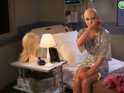 Giả bệnh nhân ung thư, Next Top Ukraina bị  ném đá  không thương tiếc