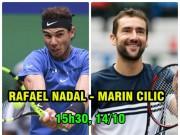 Chi tiết Nadal - Cilic: Tie-break định đoạt (KT)
