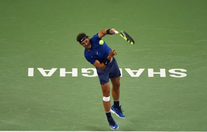 """Chung kết Thượng Hải Masters: Federer """"hành hạ"""" Nadal & phút giây vỡ òa 4"""