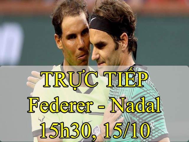 Clip hot tennis: Choáng ngợp Federer 4 lần vung vợt, hạ Nadal 50 giây 1