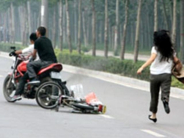 Đôi nam nữ bị cướp táo tợn khi đang tâm sự trên đèo Cù Hin