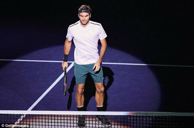 """Chung kết Thượng Hải Masters: Federer """"hành hạ"""" Nadal & phút giây vỡ òa 2"""