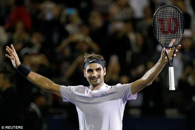 """Chung kết Thượng Hải Masters: Federer """"hành hạ"""" Nadal & phút giây vỡ òa 7"""