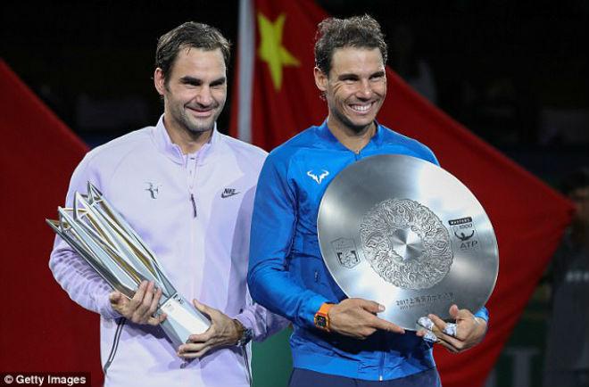 Federer hạ Nadal 5 lần liên tiếp: Mưa kỷ lục, bệ phóng tranh số 1 1