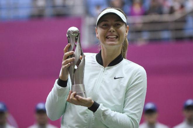 Sharapova vô địch Thiên Tân: Nữ hoàng rũ bùn đứng dậy sáng lòa 2