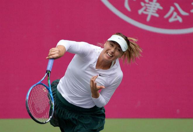 Sharapova vô địch Thiên Tân: Nữ hoàng rũ bùn đứng dậy sáng lòa 1
