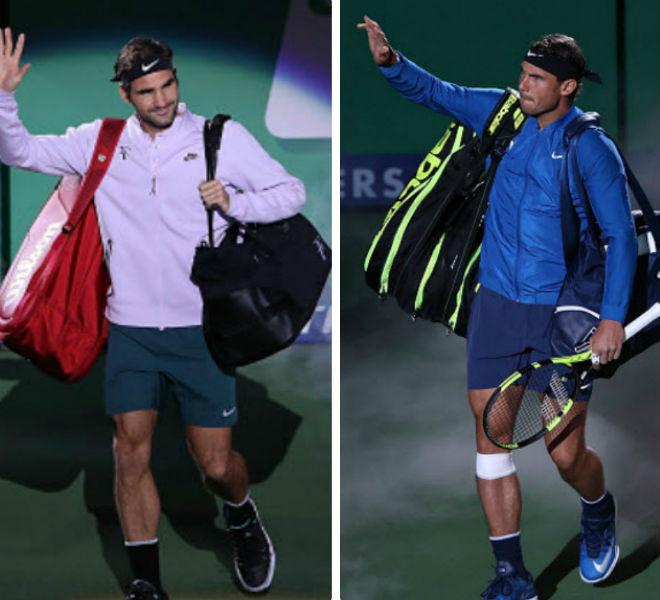 """Chung kết Thượng Hải Masters: Federer """"hành hạ"""" Nadal & phút giây vỡ òa 1"""