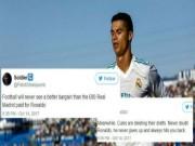"""Ronaldo  """" thông nòng """"  Liga: Triệu fan vỡ òa, báo giới quỳ rạp"""