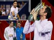 Federer hạ Nadal 5 lần liên tiếp: Mưa kỷ lục, bệ phóng tranh số 1