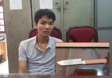 """""""Ân ái"""" xong, kề dao vào cổ gái bán dâm cướp tài sản"""