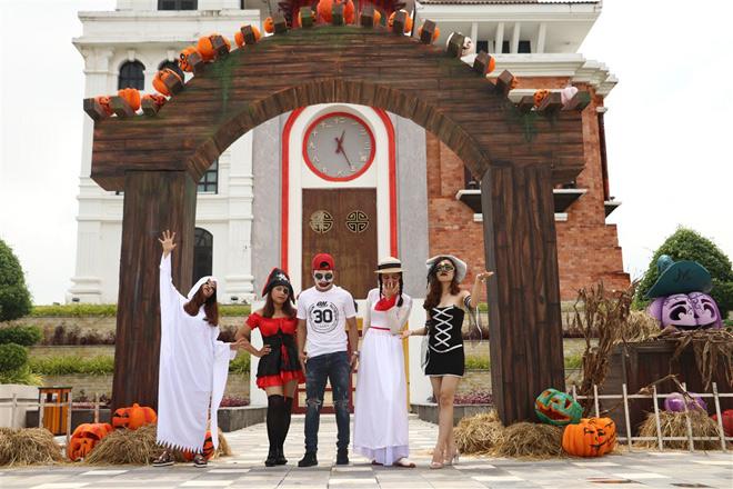 """Lạc vào """"Vương quốc bí ngô"""" kỳ ảo mùa Halloween tại Sun World Danang Wonders - 1"""