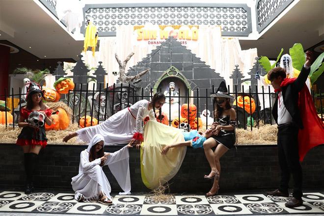 """Lạc vào """"Vương quốc bí ngô"""" kỳ ảo mùa Halloween tại Sun World Danang Wonders - 6"""