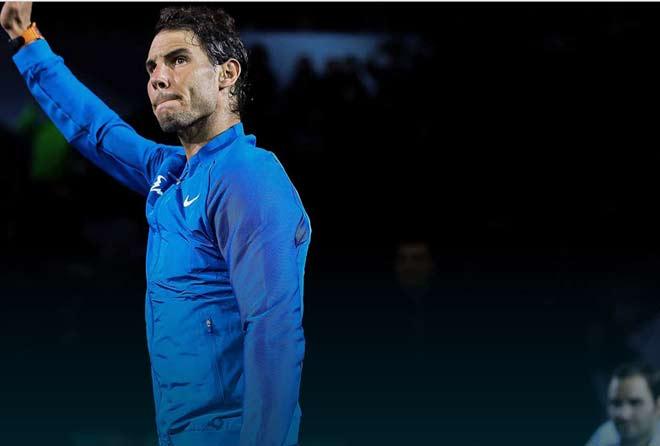 """Thua 5 lần liên tiếp, Nadal """"ngả mũ"""" thừa nhận Federer hay hơn 1"""