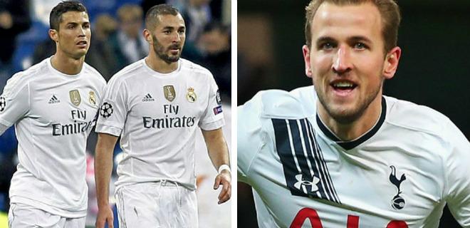 """Trước lượt 3 vòng bảng cúp C1: Real - Ronaldo """"thử lửa"""" Tottenham - Kane"""