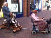 """Chuyến xe  """" bão táp """"  của cặp tình già (Nhật ký phiêu lưu ký - P34)"""