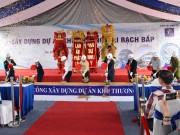 Phạm Anh Khoa, Hoàng Yến Chibi khuấy động lễ khởi công Khu thương mại Rạch Bắp - An Điền