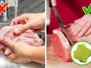 5 thực phẩm tuyệt đối không được rửa với nước mà bạn không ngờ tới