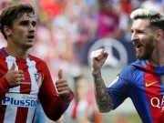 "Messi  "" say đắm ""  Griezmann: MU bối rối, Suarez dễ bật khỏi Barca"