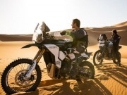 Triumph Tiger Tramontana chinh phục giải đua khắc nghiệt Pan-African Rally