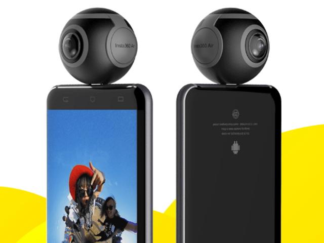 """Điểm danh những camera 360 độ """"ngon"""" nhất hiện nay, giá tốt"""