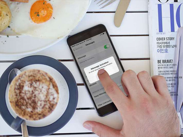 Khắc phục lỗi không thể kích hoạt iMessage và FaceTime trên iOS 11