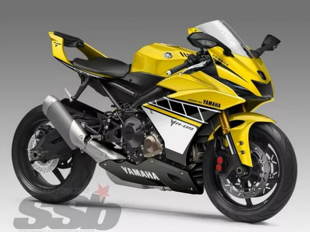 """Xem trước môtô """"khủng"""" 2018 Yamaha R-09"""