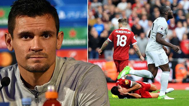 MU: Lukaku thoát án đá vào mặt Lovren, Liverpool cay cú 2