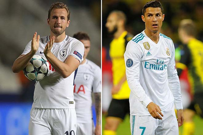 """Real Madrid - Tottenham: """"Trọng pháo"""" Ronaldo - Kane so tài - 1"""