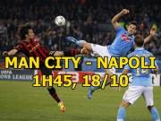 """Man City - Napoli: Hai  """" vua """"  tranh ngai, rực lửa hận thù"""
