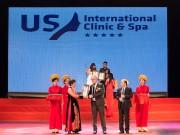Hệ thống US International Clinic  & amp; Spa lọt top 3 VTM hàng đầu Việt Nam 2017