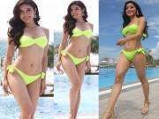 Ngỡ ngàng xem ảnh bikini không chỉnh sửa của Huyền My tại Hoa hậu Hòa bình