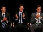 Tin thể thao HOT 17/10: Djokovic coi Federer và Nadal là tấm gương