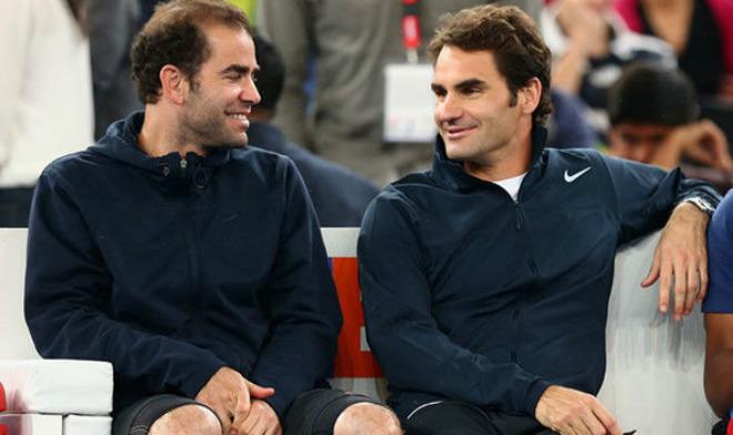 """Federer """"siêu vĩ đại"""" ở tuổi 36: Nhờ huyền thoại Sampras dẫn lối 1"""