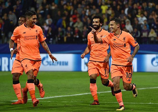 Maribor - Liverpool: Bộ ba siêu đẳng, tỷ số kinh hoàng