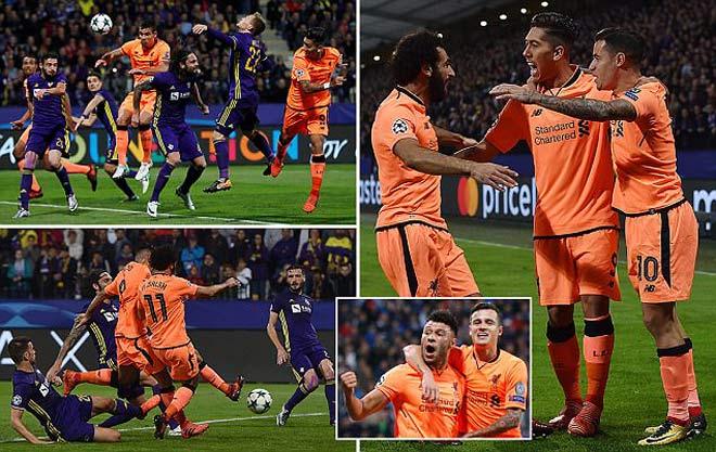 """Liverpool thắng 7 """"sao"""", fan phát cuồng vì """"xe-pháo-mã"""" Coutinho-Firmino-Salah 1"""