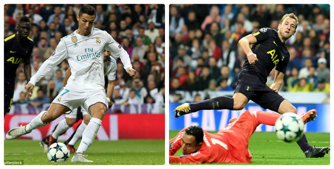 """Ronaldo """"chiến"""" Harry Kane cúp C1: Hòa 5-5, chờ tái đấu lượt về 1"""