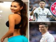 Ronaldo có bạn gái xinh, vẫn mê mẩn bồ rực lửa của đồng đội