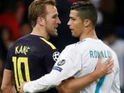 """Ronaldo  """" chiến """"  Harry Kane cúp C1: Hòa 5-5, chờ tái đấu lượt về"""