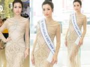 Ngày càng sexy, Đỗ Mỹ Linh đặt mục tiêu top 5 Hoa hậu Thế giới