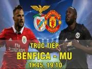 TRỰC TIẾP Benfica - MU: Rashford liên tục làm khổ hàng thủ chủ nhà