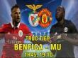 Chi tiết Benfica - MU: Trả giá đắt vì sai lầm tai hại (KT)