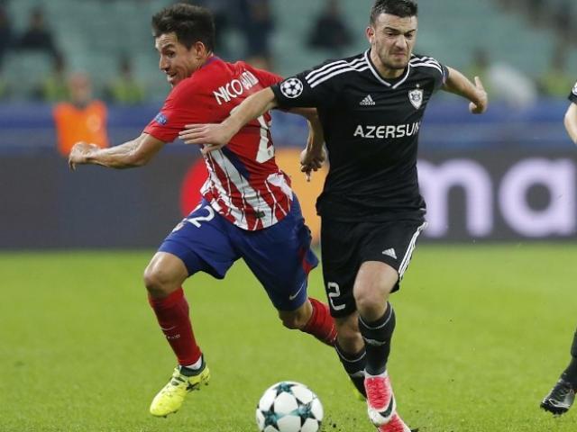 Qarabag - Atletico Madrid: Thẻ đỏ vẫn thoát hiểm thần kỳ