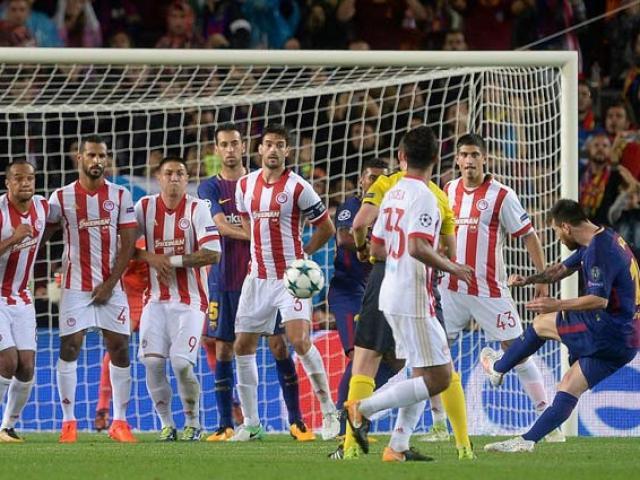 """Tuyệt tác Cúp C1: Rashford hóa """"Vua sút phạt"""" Juninho, Messi quá đỉnh"""