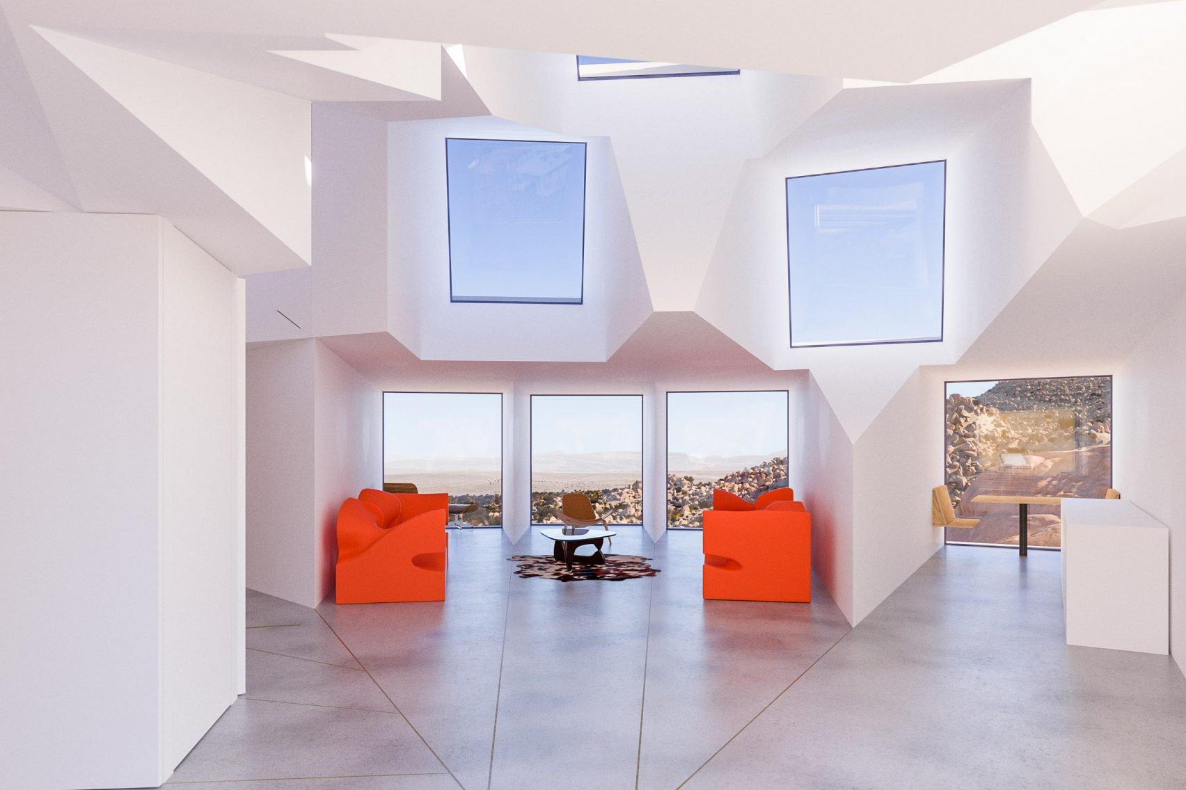 Nhìn tưởng pháo đài xấu xí nhưng thực ra lại là căn hộ tuyệt đẹp giữa sa mạc - 3