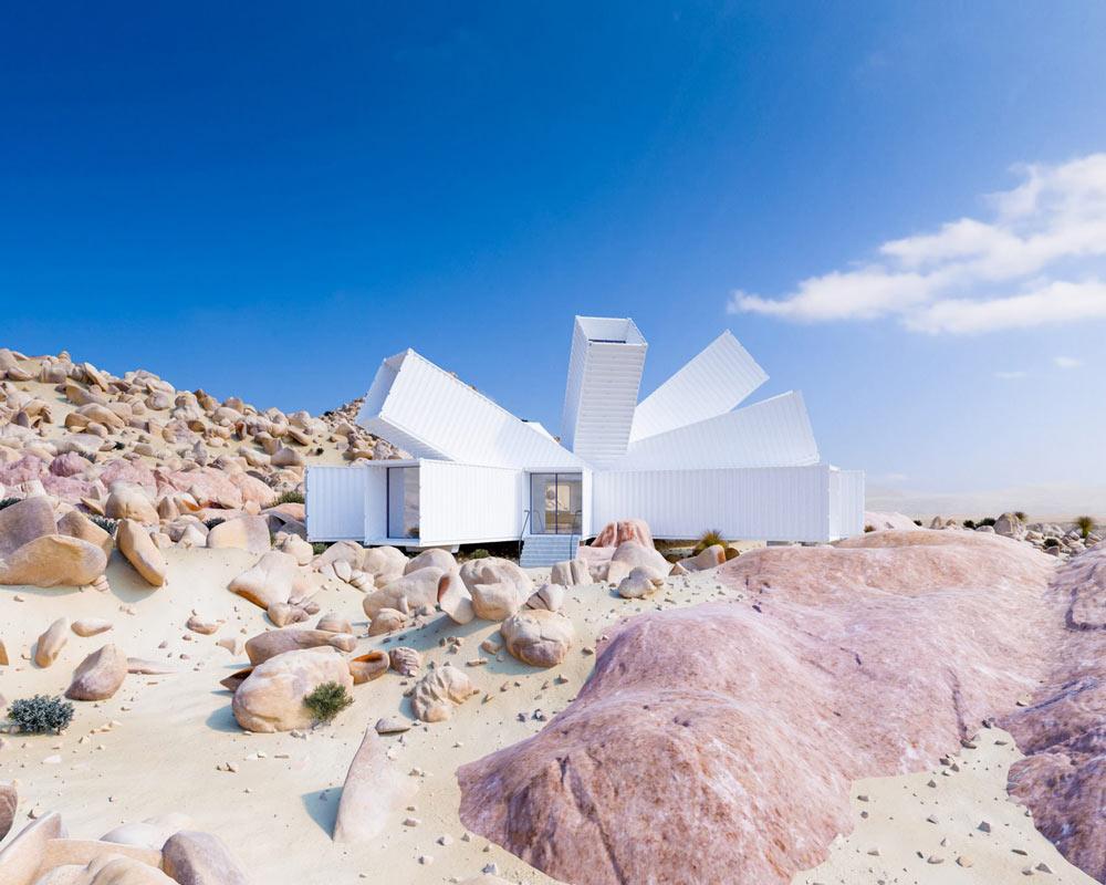 Nhìn tưởng pháo đài xấu xí nhưng thực ra lại là căn hộ tuyệt đẹp giữa sa mạc - 10