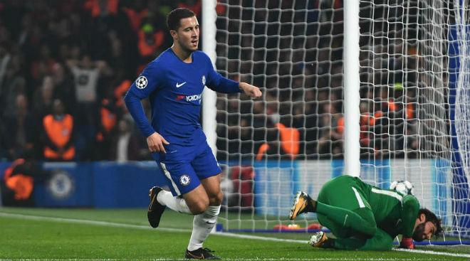 """Chelsea thoát thua, Hazard phá dớp vẫn hận Conte """"thấu xương"""" 1"""