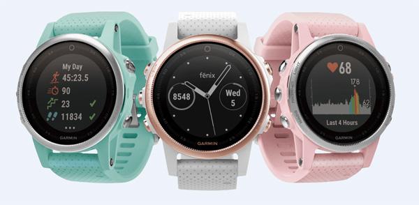 Garmin fenix 5S thêm 3 màu mới cho phái đẹp - 1