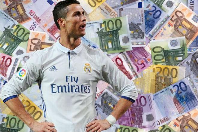 """Vượt Federer, Ibrahimovic: Siêu sao Ronaldo kiếm tiền """"vô đối"""" châu Âu 1"""